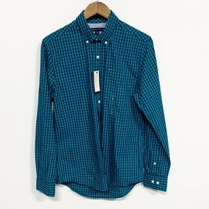 Tommy Hilfiger | Blue Checkered Button Down Shirt